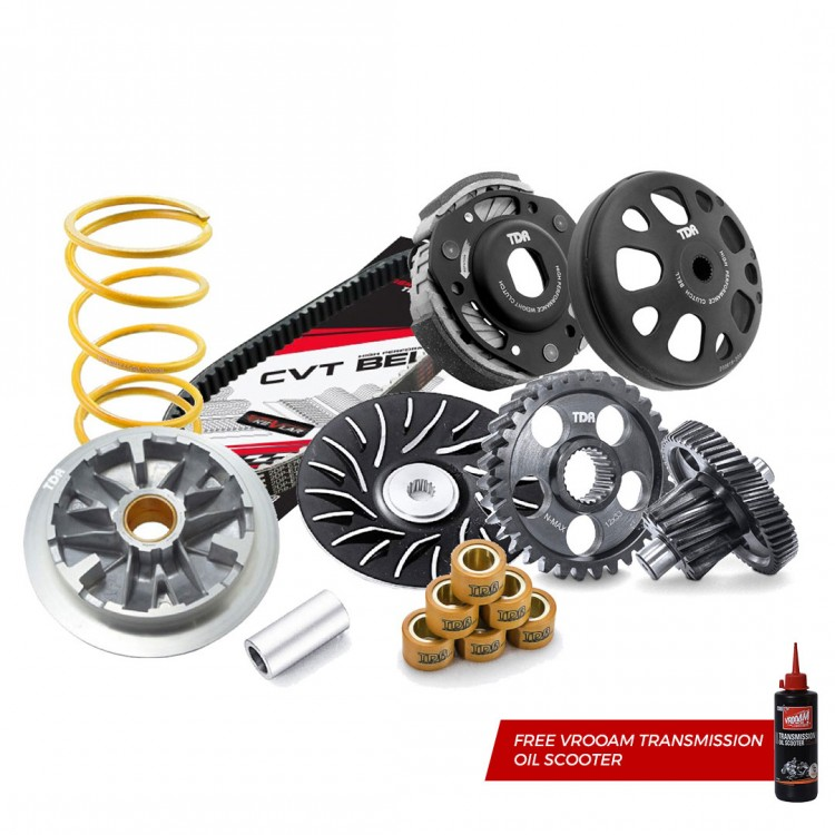 TDR CVT Solution Package 2 for All New Aerox / Aerox (NVX) 155