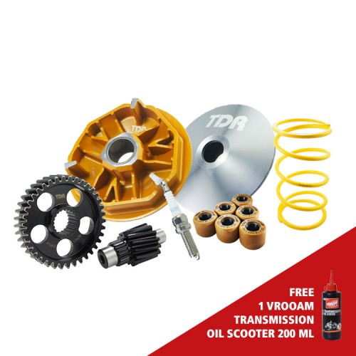 TDR Power Package Teflon For X-Max 250