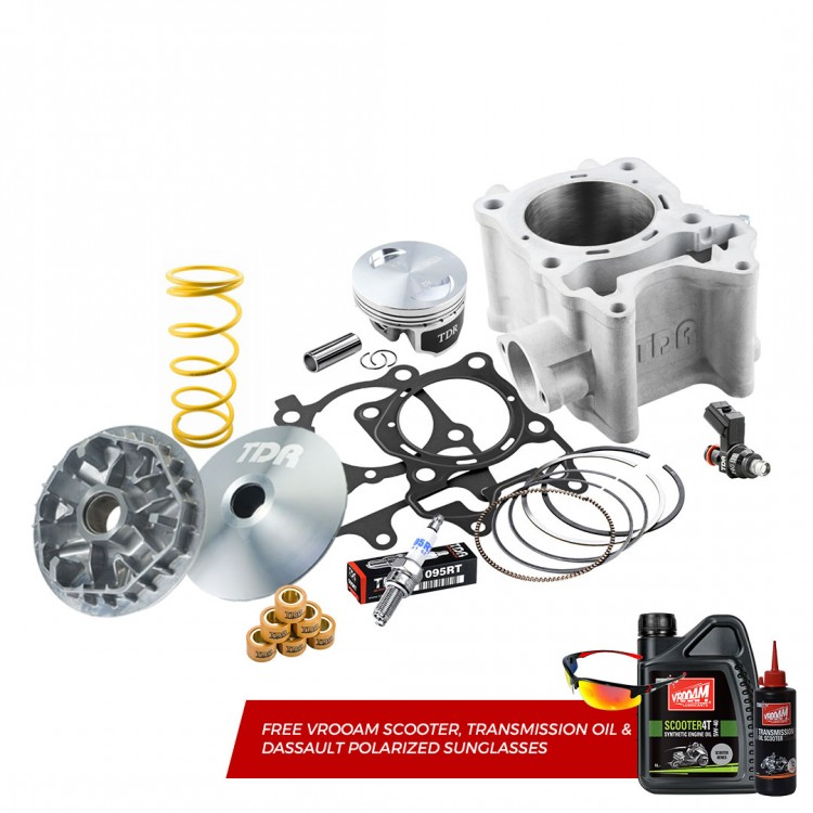 TDR Cylinder Block Kit ADV / All New PCX / Vario 150 (62MM) (Injector + Acceleration Package Super Pulley)