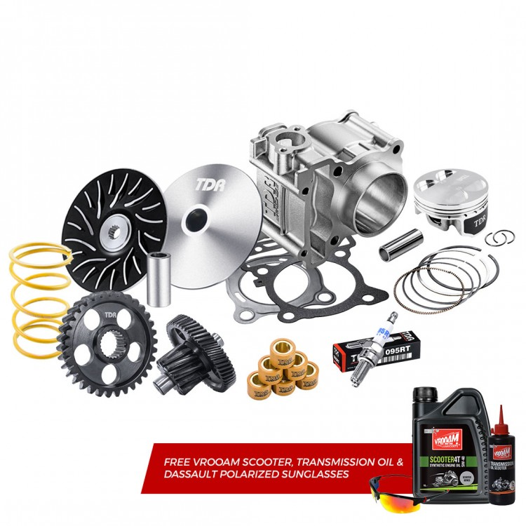 TDR Cylinder Block Kit All New N-Max 2020 (Power Package + Lubricant)