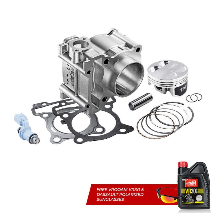 TDR Bore Up Kit For XSR 155 / WR 155 + Injector