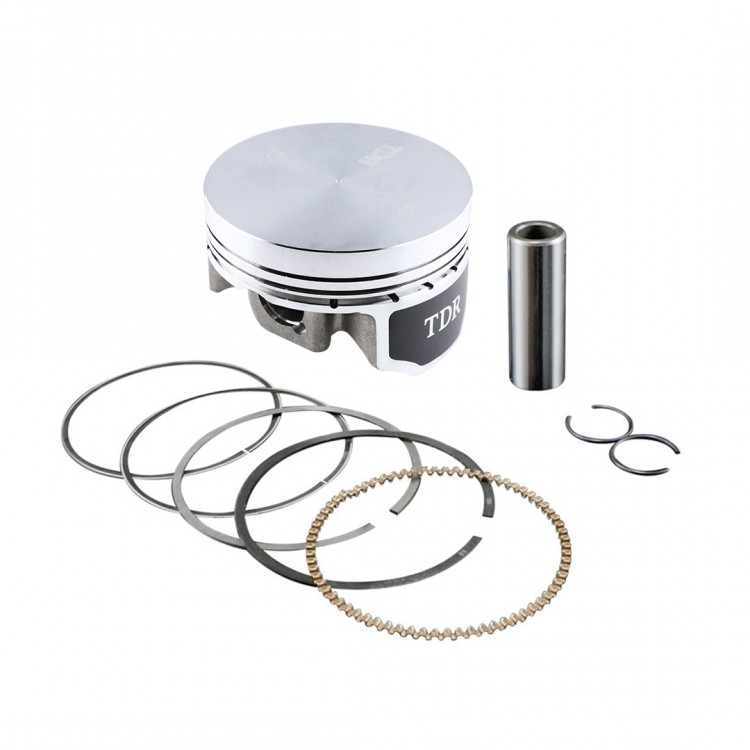 TDR Forged Piston Assy (KIT) High Dome 63mm PIN 14