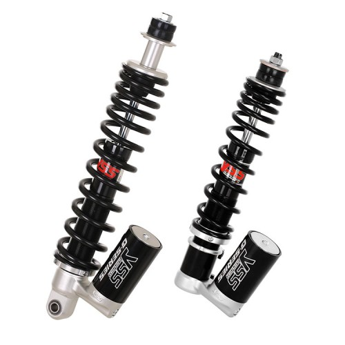 YSS Single Shock Front VK302-230T and Rear OK302-360T For Vespa Sprint / Primavera 125 / Primavera 150 iGET Series