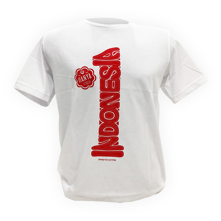 719 Elements T-Shirt 1-Indonesia White