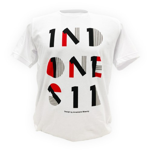 719 Elements T-Shirt Indonesia-1 White
