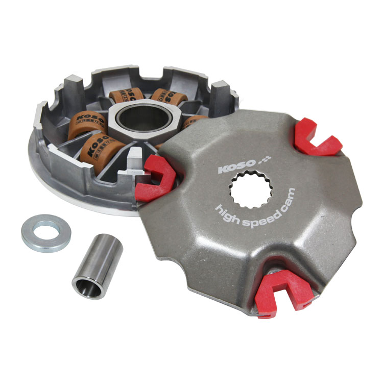 KOSO Driver Pulley Kit With Extra Large Roller 18x14 For Yamaha Mio