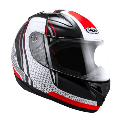 LAZER Helmet F-3 Black/Red