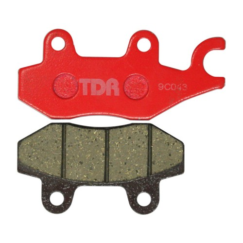 TDR Racing Disc Pad Thunder 125 Red