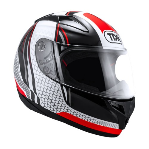 Helmet TDR TITAN-S Black/Red