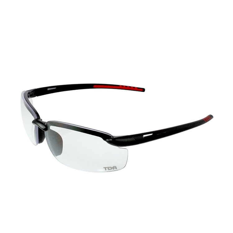 TDR Clear Glasses Lumiere SY132 Matte Black Frame