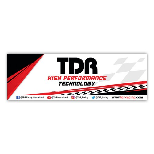 TDR High Performance Sticker