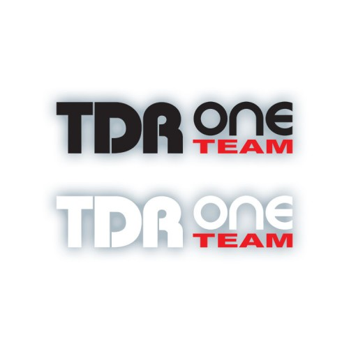 Cutting Sticker TDR One Team
