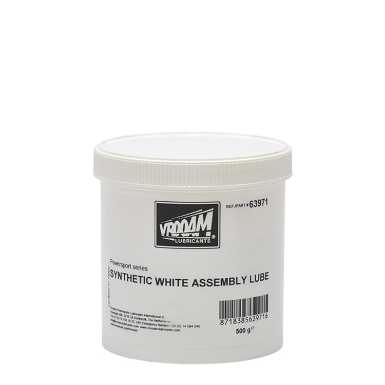 VROOAM Synthetic White Assembly Lube 500gr