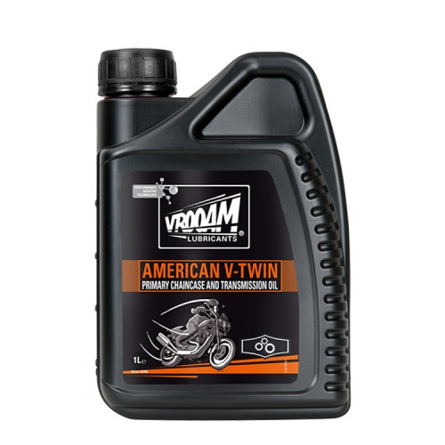 VROOAM American V‐Twin Primary Chain Case and Transmission Oil 1L