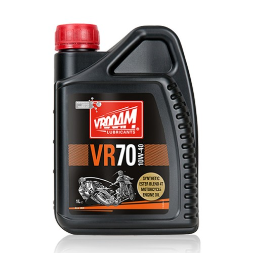 VROOAM VR70 4T Motorcycle Engine Oil 10W‐40 1L