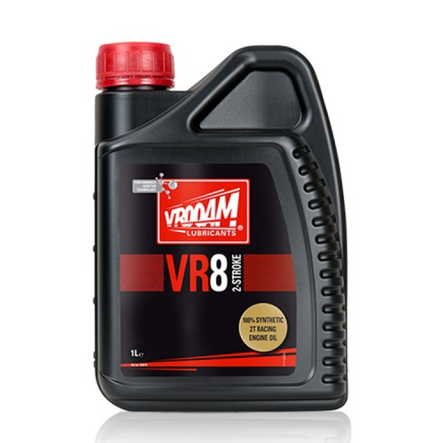 VROOAM VR8 2T Motorcycle Racing Engine Oil PREMIX 1L