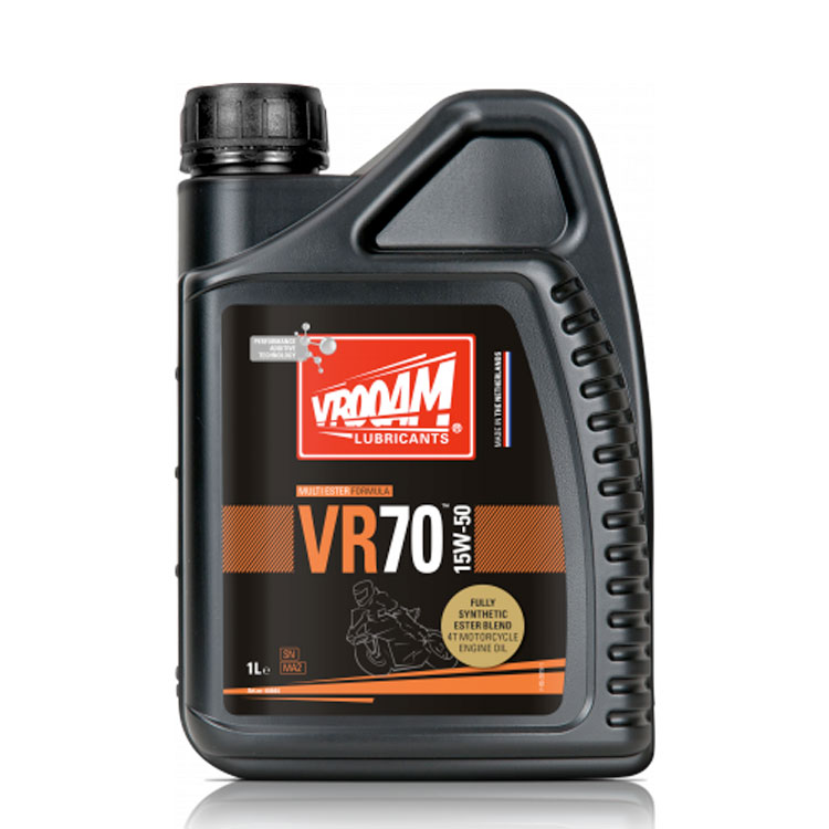 VROOAM VR70 4T Motorcycle Engine Oil 15W‐50 1L