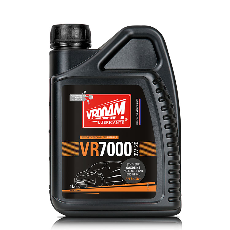 VROOAM VR7000 Car Engine Oil SAE 0W-20 API SN+ 1L