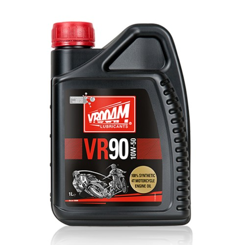 VROOAM VR90 4T Motorcycle Engine Oil 10W‐50 1L