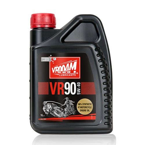 VROOAM VR90 4T Motorcycle Engine Oil 5W‐40 1L